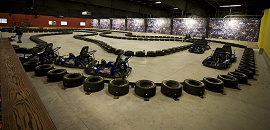 Go-kart track design and construction.
