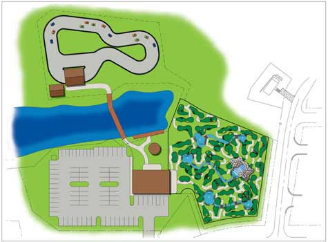 Go-Kart and Miniature Golf Course Designs.