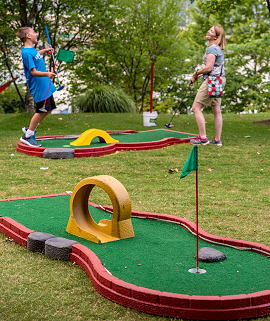 Portable Mini Golf Rental