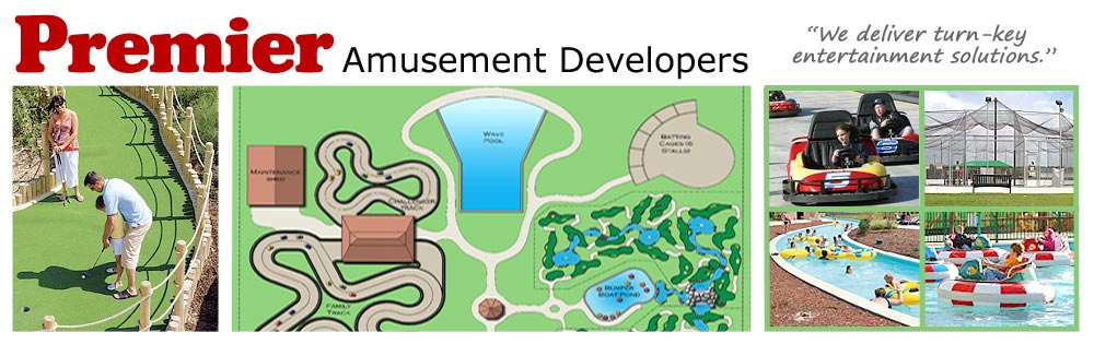 Miniature golf construction, miniature golf course design, family fun center design & construction.